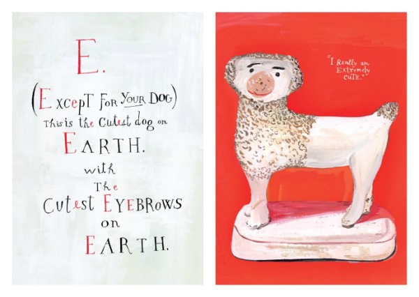 An out-of-the-box alphabet books for your tiny design lovers from Maira Kahlman