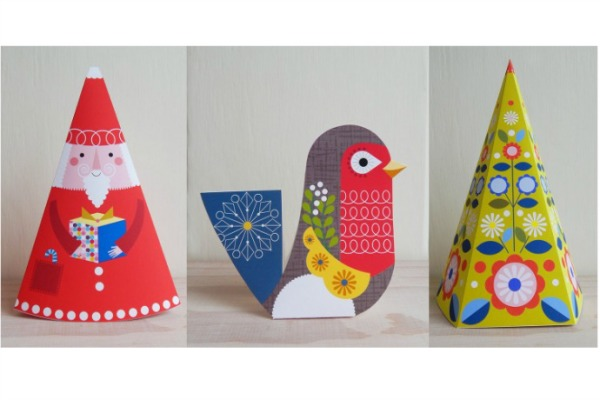 Printable Holiday Ornaments by Ellen Giggenbach on Etsy
