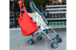 Be the last stroller standing, no matter how many gifts are weighing you down.