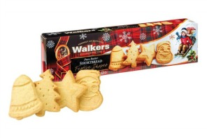 Easy Christmas cookie shortcut with Walkers Shortbread Festive Shapes