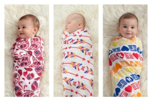 Celebrity moms help swaddle babies in love for World AIDS Day.