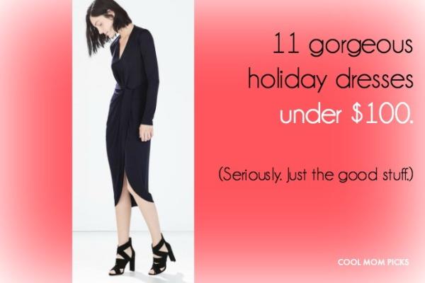 Hot holiday dresses all under $100 on CoolMomPicks.com