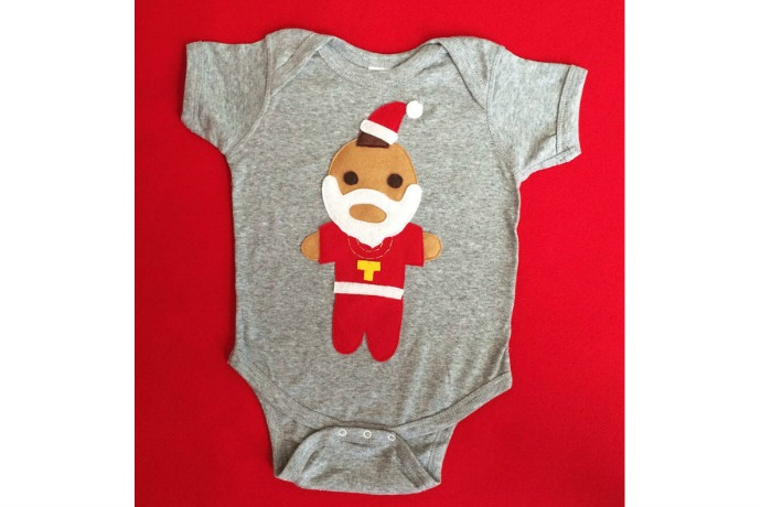 We pity the fool who doesn't love this Mr. T holiday onesie
