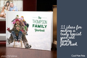 11 ideas for end-of-year family photo books to make them even more special