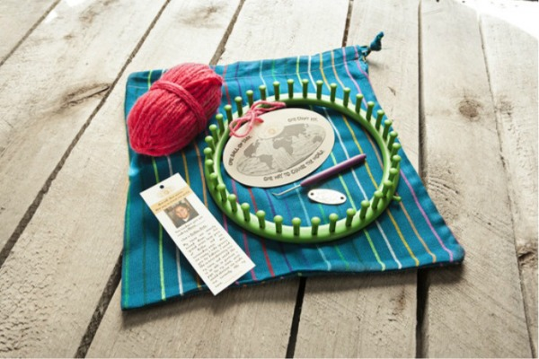 KidKnits craft kits for kids support families in need