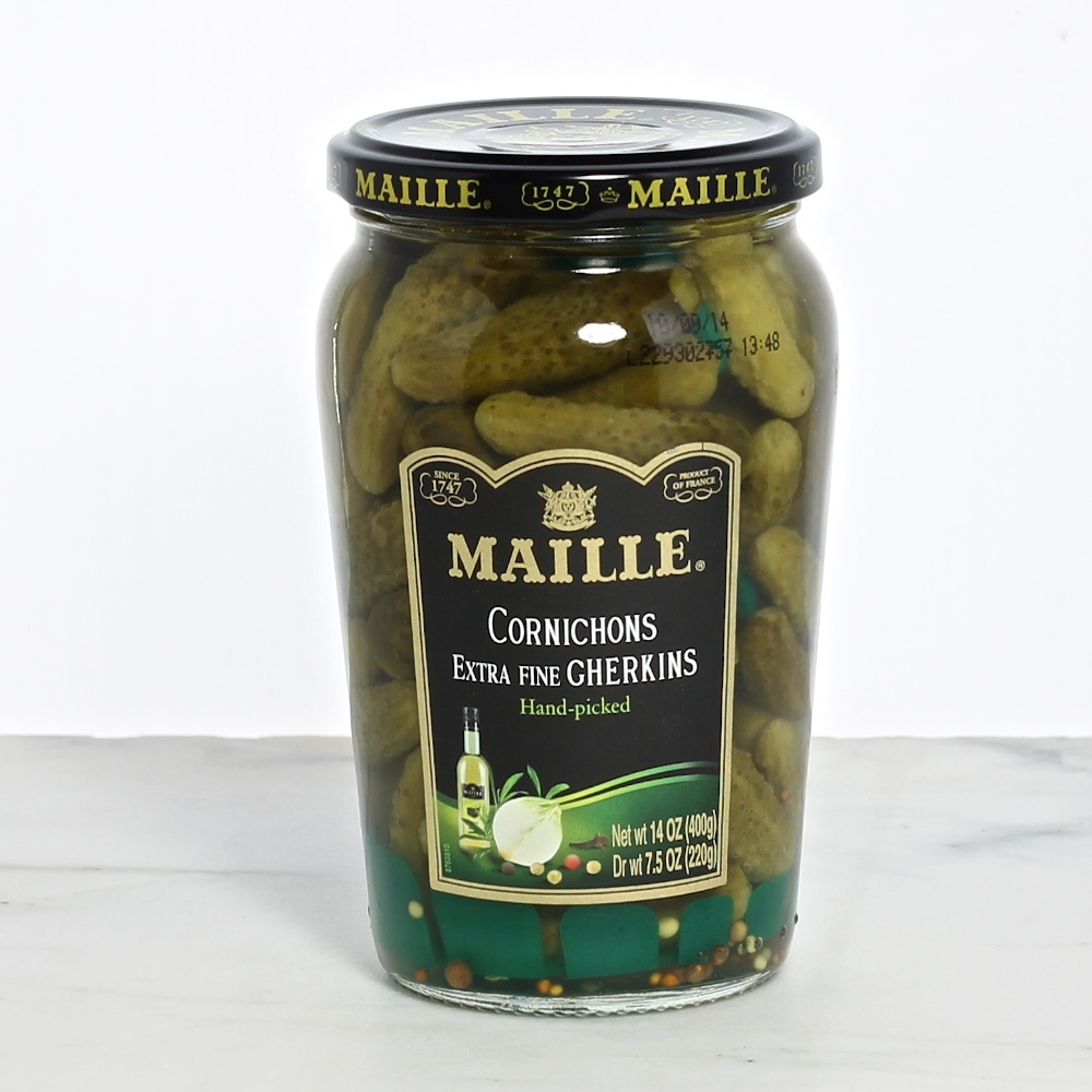 Maille cornichons - perfect for cheese plates