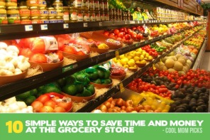 10 simple, time and money-saving grocery shopping tips, just in time for the holidays