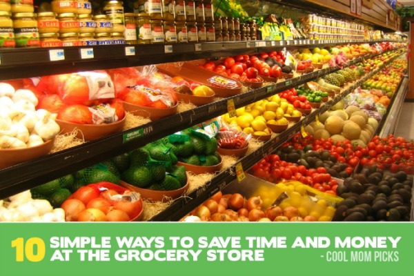 Simple ways to save time and money grocery shopping