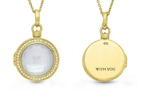 Keepsake lockets from With You come with more than just a sentimental photo