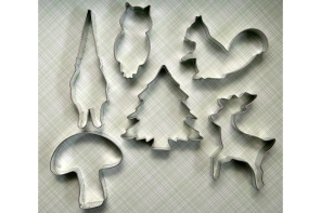 This woodland cookie cutter set takes the cake.