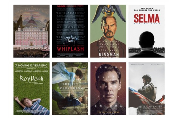 2015 Oscar Best Picture Nominees: Now showing all in one place!