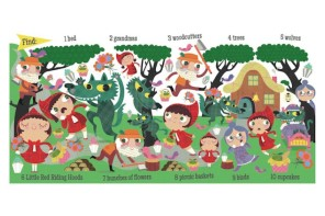 Fairy Tale Search and Find by Stephanie Hinton: Fantastic for preschoolers