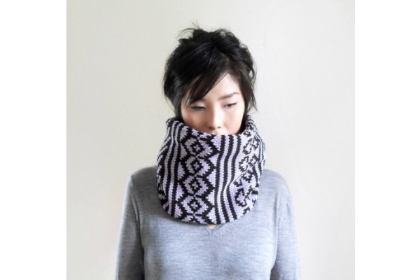 Chunky snood scarves, like these from IRISMINT on Etsy, are perfect for any winter wardrobe