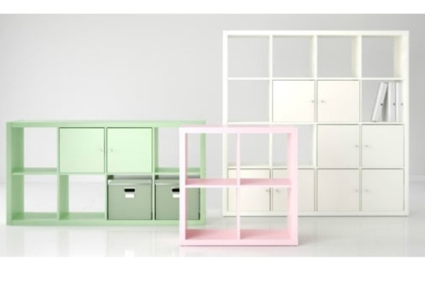 The new IKEA Kallax storage units: Expedit gets a makeover