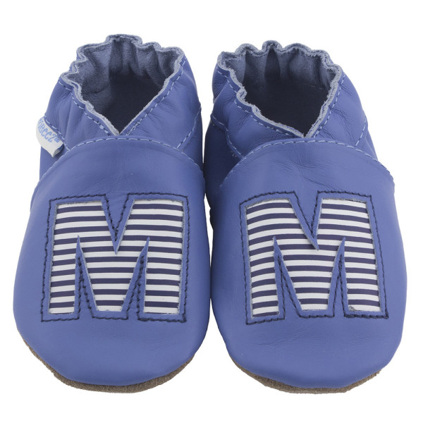 The new monogrammed Robeez soft sole shoes