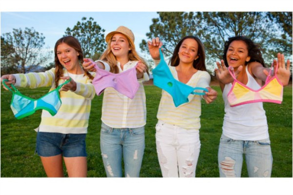 Yellowberry bras for tweens and teens