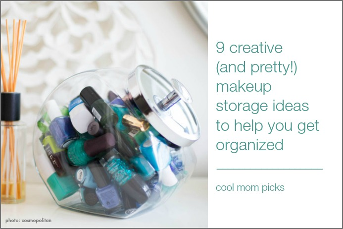 9 creative makeup storage ideas from sushi mats to candy jars
