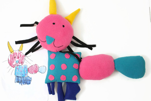 Custom dolls from drawings your kids make | Dolls n All