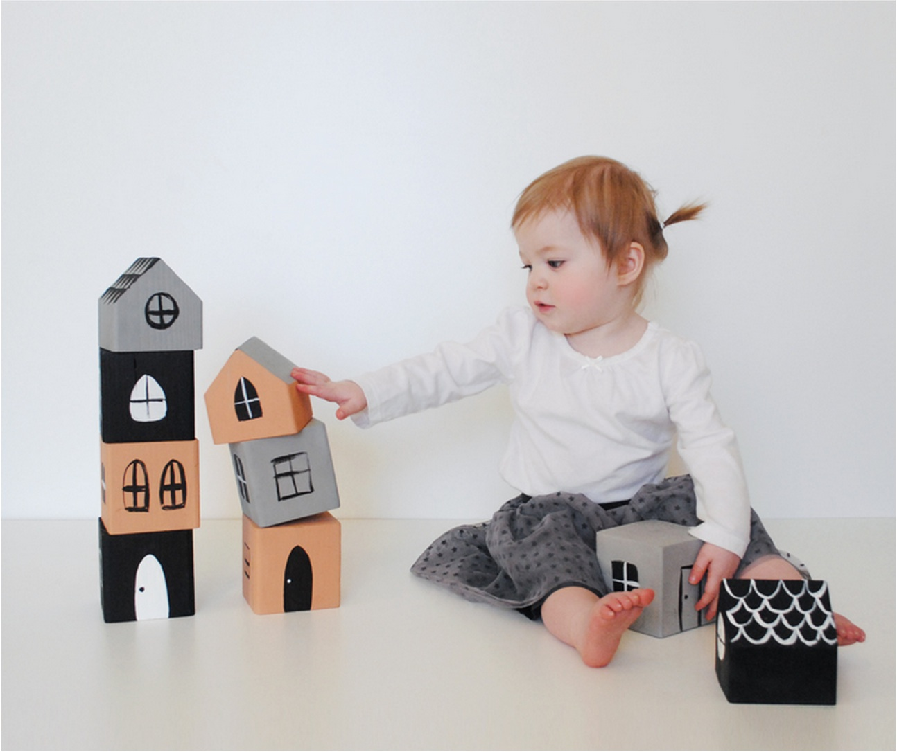 6 wooden blocks crafts to make those old toddler toys new and fun again