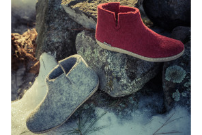 Glerups Danish wool slippers for kids and adults