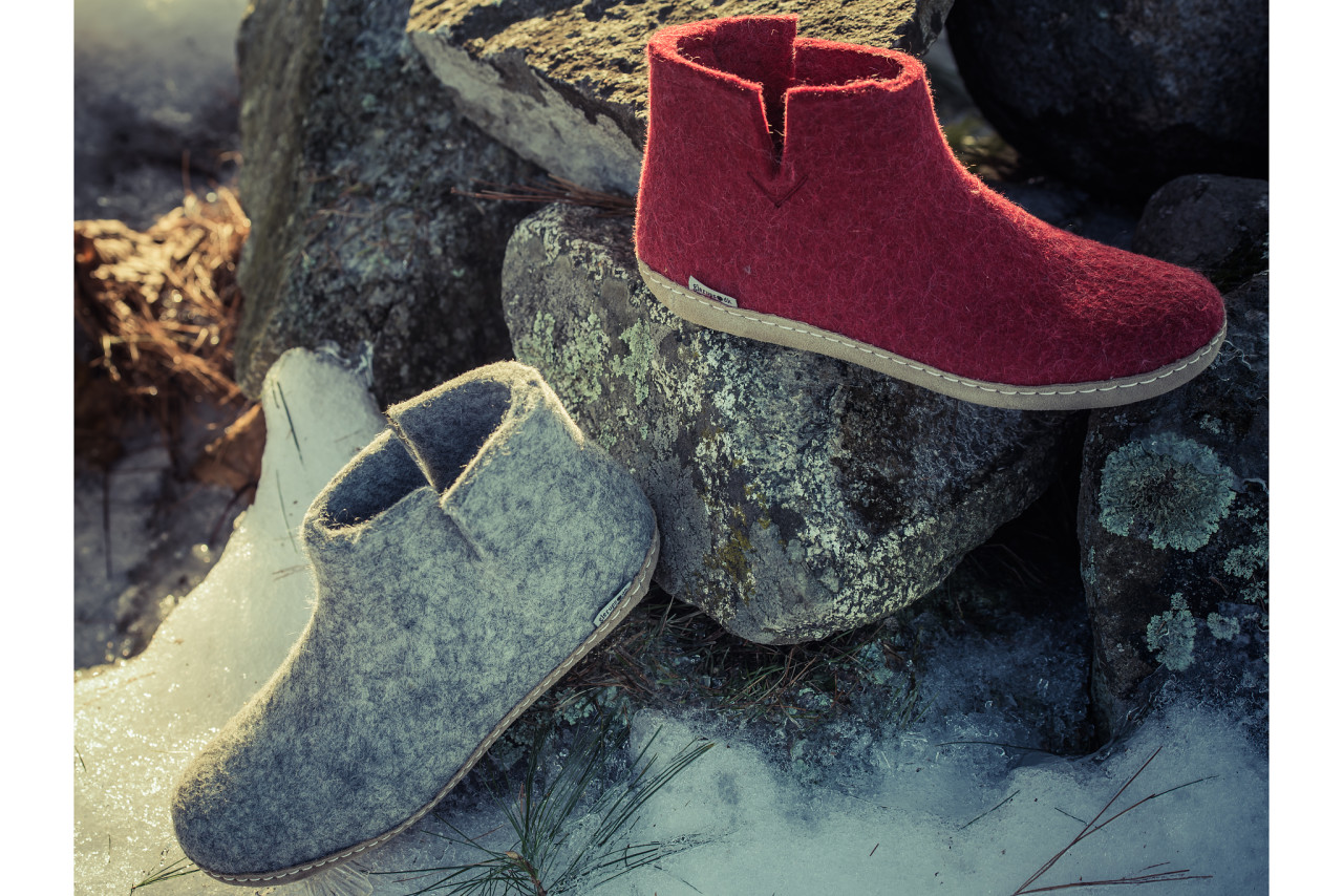 Glerups: The perfect slippers for around the house. Or the chalet.