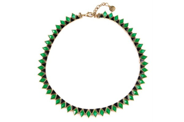 House of Harlow Wren Feather Collar Necklace