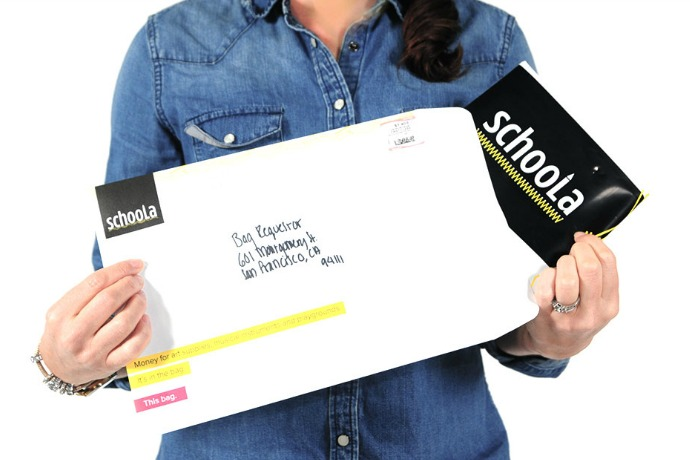 Sponsored Message: Schoola turns old clothes into cash for your school