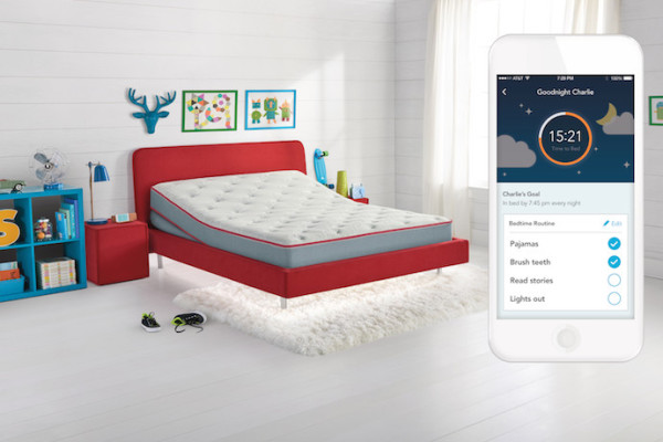 A sleep number bed for kids!