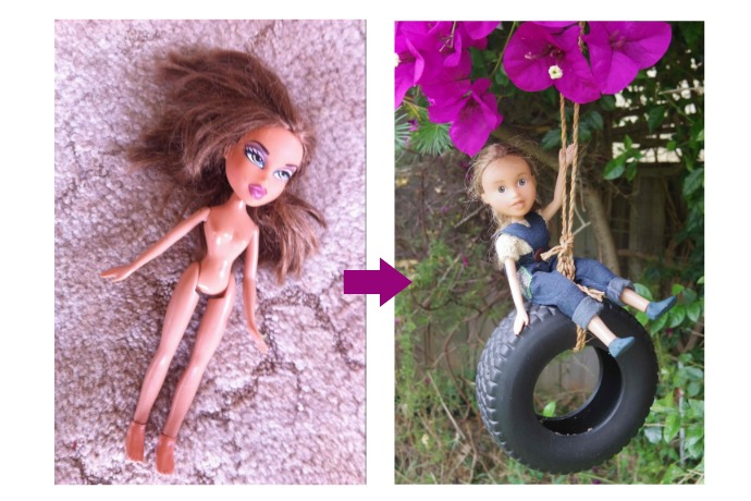 Tree Change Dolls: Turning trash (i.e. Bratz Dolls) into treasure.