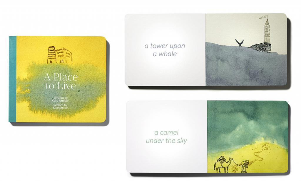 A Place to Live is a picture book that charms, engages, and hopefully lulls to sleep.