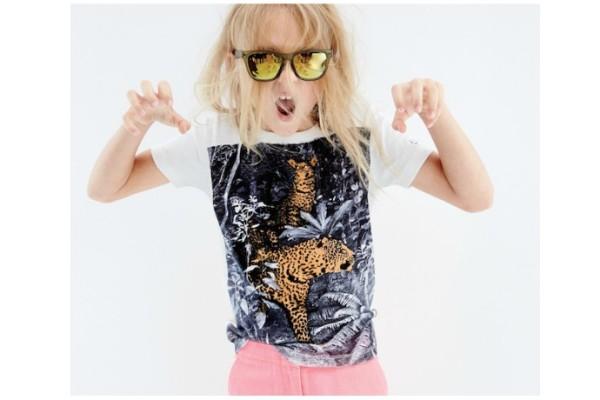 AMNH JCrew leopard tee
