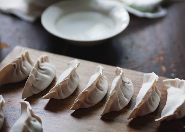 Chinese New Years Dumplings: Shrimp and Pork Potstickers | The Tart Tart