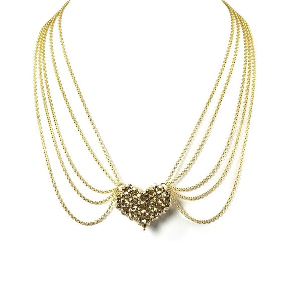 Cool Pop Love III heart necklace from K20 by Karen Ko
