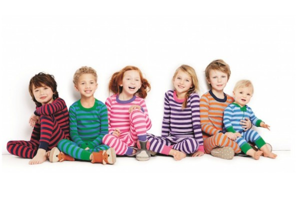 Hana Andersson Long John pajamas for kids