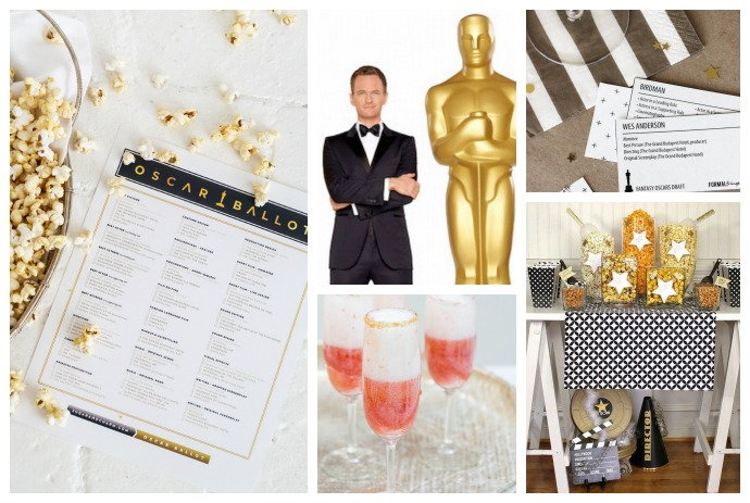 Tips and tricks for throwing the best Oscar party, serving the best food and drinks, and making off with the Oscars pool.