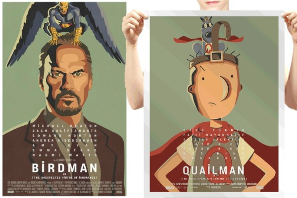 Birdman parody poster: Doug is...Qualiman