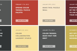 Paint inspiration for 4 cool DIY home decor projects. Color nerds, we have you covered.