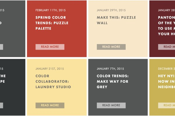 Colorhouse Paint blog: A great source of home design inspiration