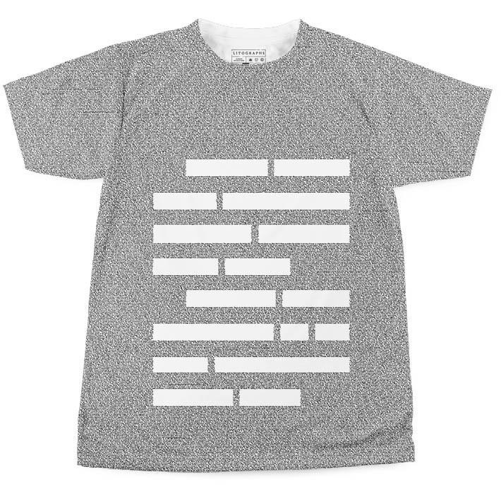 An Elements of Style t-shirt for those who don't have to ask what that is.