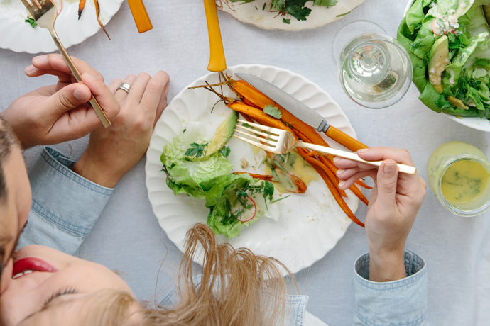 3 ideas for family-friendly Valentine's Day dinners: How to adapt them from kid-friendly to adult-friendly later on.