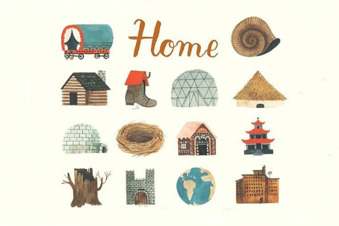 Home by Carson Ellis beautifully celebrates the way we all live