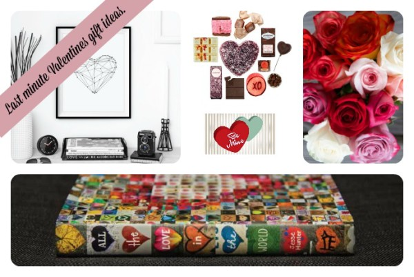 Last minute Valentine's Day gifts: lots of ideas!