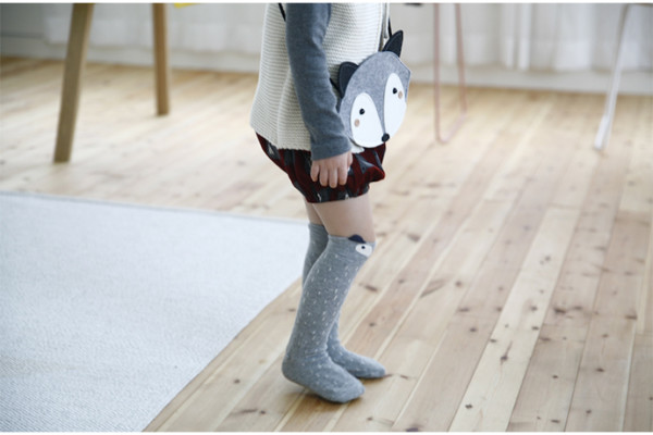 Cute knee socks and matching bag for little girls at Little Circus