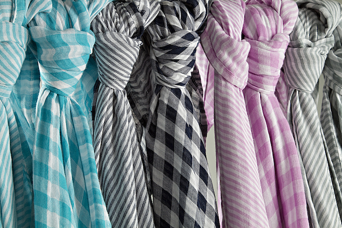Beautiful new muslin baby blankets, for a new generation of peacefully sleeping babies