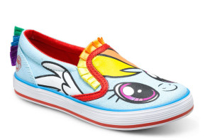 My Little Pony slip-on shoes for kids!