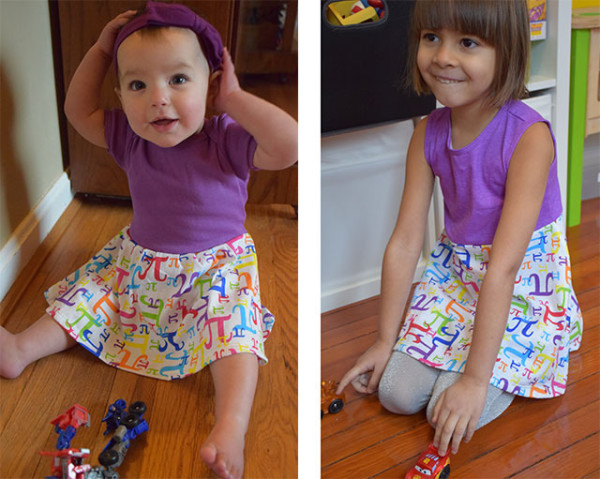 Princess Awesome Pi Dress for Girls