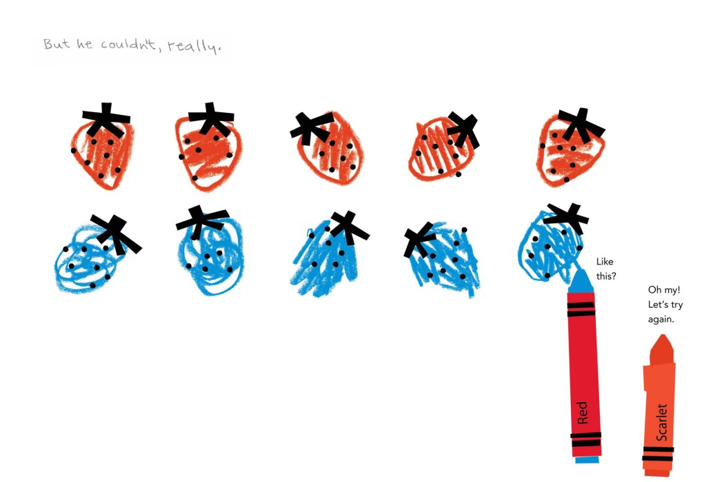 Red: A Crayon's Story by Michael Hall. Fantastic book about tolerance and finding your own path