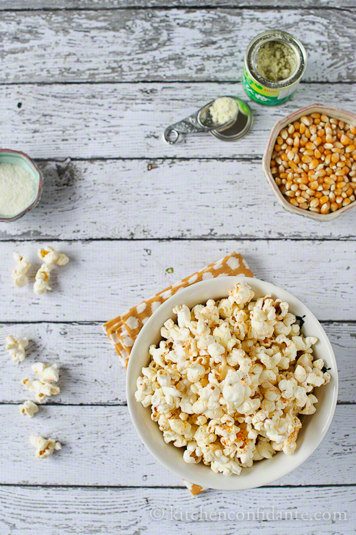 Sweet and spicy wasabi popcorn recipe | Kitchen Confidante