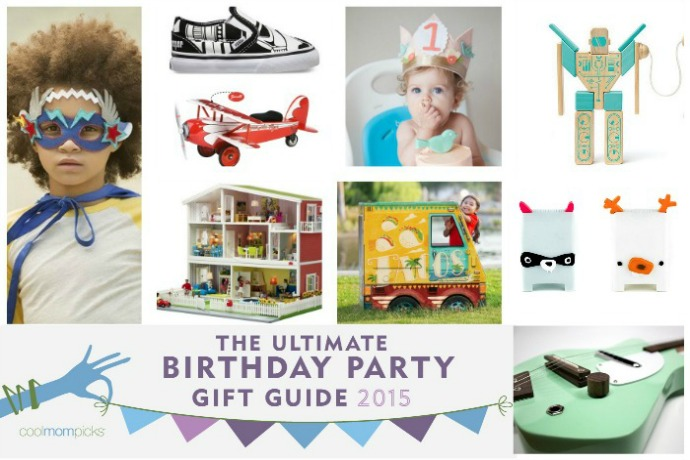 The Ultimate Birthday Party Gift Guide from Cool Mom Picks with over 100 of the coolest birthday gifts for kids