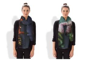 VIDA scarves by Karen Walrond: Gorgeous photos brought to life around your neck